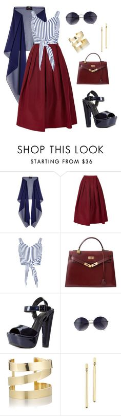 """""""Out on the Town"""" by aowens99 on Polyvore featuring Ariella, TIBI, Hermès, Charlotte Russe, Étoile Isabel Marant and Bloomingdale's"""