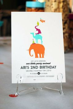 This Wild Party Animal Had the Best 2nd Birthday Ever - feature on Red Tricycle