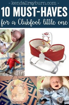 Must-Haves for a Clubfoot Little One - #clubfoot #ponseti #bootsandbar