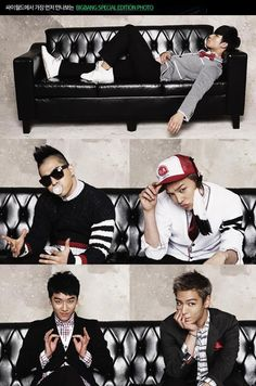 BigBang- I feel as though this describes them each exactly.