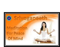 Meditation is the practice of taking a break from our daily activity and quitting the worries.  http://sriyogapeeth.com/