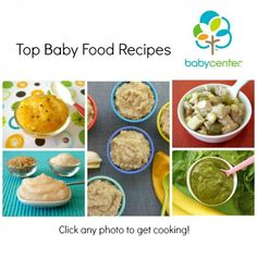 Pin this! BabyCenter's most popular baby food recipes | BabyCenter | Cannot wait to try all these.