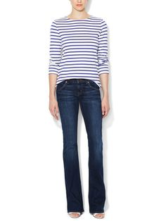Signature Mid-Rise Bootcut Jean from Denim Guide: Sizes 26