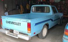 Grandma's LUV'n Spoonful: 1980 Chevrolet LUV Mini Trucks, Lifted Trucks, Ford Trucks, Pickup Trucks, 1957 Chevrolet, Chevrolet Trucks, Chevrolet Impala, Chevy Luv, Small Pickups