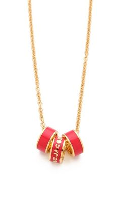Marc by Marc Jacobs - Classic Marc Sweetie Rings Necklace