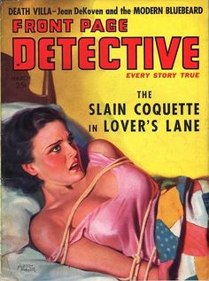 Front Page Detective - March, 1938