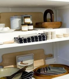 March, a home furnishing store in San Francisco. ceramic canisters made by Californian potter Victoria Morris; $265 to $325, and a double-handle cutting board from Blackcreek Mercantile & Trading Co.; $230.