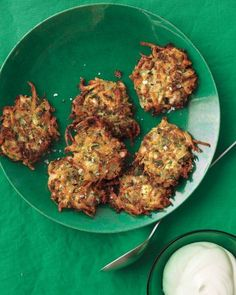 Zucchini-Parmesan Pancakes Recipe