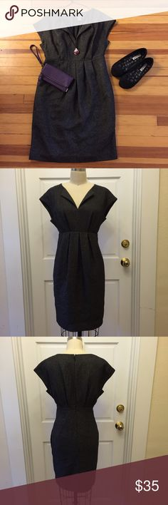 Selling this Ann Taylor black cap sleeve sheath dress sz 2 on Poshmark! My username is: tammylboutique. #shopmycloset #poshmark #fashion #shopping #style #forsale #Ann Taylor #Dresses & Skirts
