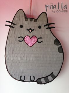 Pusheen cat piñata / Party favors for kids / Piñata Pusheen Gatos / Piñatas para fiestas infantiles/ pinata
