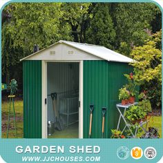 wwwjjchousescom garden sheds for saleeasy assemlbyit is disassembly packing and can ship by sea very easyvery cheap priceuse for storage tool