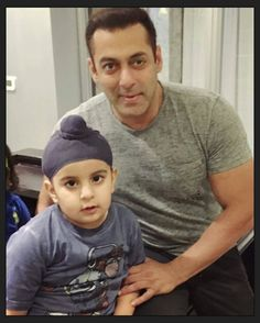 Another Cute click of Salman Khan with his young fan #Rehras in #ludhiana.  @BOLLYWOODREPORT  @harjinderkukreja -  With the one and only Dabangg Salman Bhai! He is one of the nicest human beings I have met. Rehras and I loved every moment we spent with him! #SalmanKhan #Sultan #Share  #bollywood #stylefile #beinghuman #sultanthemovie #instabollywood #instantbollywood  @BOLLYWOODREPORT  . For more follow #BollywoodScope and visit http://bit.ly/1pb34Kz
