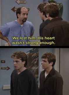 "When Chet Hunter died. | 23 Moments ""Boy Meets World"" Got Way, Way Too Real"