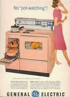 Image result for 1950'S COOKING RANGE