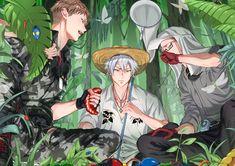 埋め込み Anime Boys, Hot Anime Guys, Manga Anime, Anime Art, Cute Characters, Anime Characters, Dark Drawings, Anime Group, Otaku