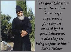 Wisdom of Saint Paisios