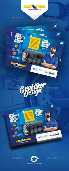 Auto Tires Flyer Templates - Corporate Flyers