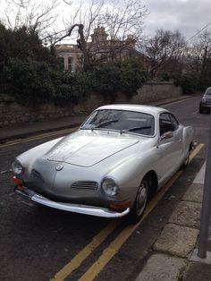 Silver Karmann Ghia ...