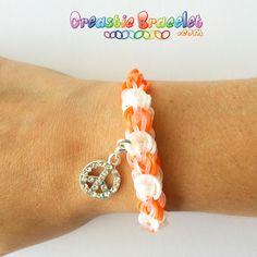 Bracelet Laced Up !  Suivez notre tutoriel sur : www.creasticbracelet.com