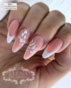 This series deals with many common and very painful conditions, which can spoil the appearance of your nails. SPLIT NAILS What is it about ? Nails are composed of several… Continue Reading → Long Nails, My Nails, Nagel Blog, Classic Nails, Wedding Nails Design, French Tip Nails, Bridal Nails, Beautiful Nail Art, Creative Nails