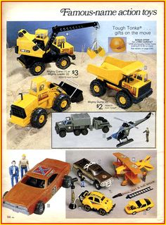 1983 sears holiday wishbook | 1983 Sears Wish Book Tonka Toys Ad