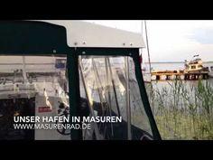 Masuren Hafen mit Hausboote - YouTube #hausbootferien #masuren