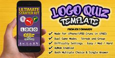 Download Free              Ultimate Logo Quiz Starter Kit for iPhone-iOS            #               games source code ios #ios logo quiz template #logo quiz #logo quiz for ipad ipod #logo quiz iphone source code