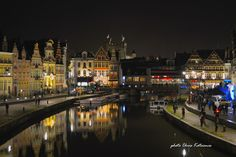 Travel in Clicks: Ghent by night