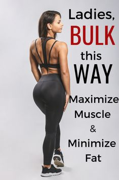 The ultimate guide to bulking for women Including a sample bulking meal plan for womenro help maximize muscle growth and minimize fat gain in a bulk is part of Bulking meals - Muscle Building Meal Plan, Muscle Building Women, Muscle Building Workouts, Workout To Gain Muscle, Muscle Training, Weight Training, Gain Muscle Women, Lose Fat Gain Muscle, Meal Prep Muscle Gain