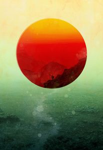 In the end, the sun rises Art Print