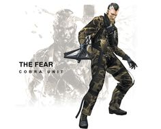 Metal Gear Solid 3: Snake Eater; Cobra Unit; The Fear