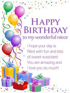 75 Niece Ideas In 2021 Happy Birthday Niece Niece Birthday Birthday Greetings