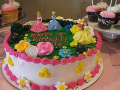 Princess Party Birthday Cake from Lyndell's