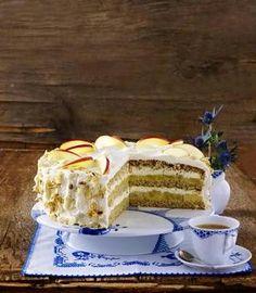 Apfel-Haselnuss-Torte Rezept