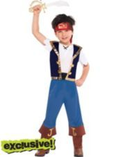Toddler Boys Jake Costume - Jake and the Never Land Pirates - Party City