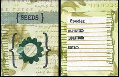 Do you have any garden seeds left over from your spring planting? Seeds can make great spring gifts for gardeners, especially if attractively packaged. Here is how to make a seed packet like the one shown above. 1. Download and print out the PDF file Seed Packet Template. Cut out the template and if you … Continue reading Make a decorated seed packet →