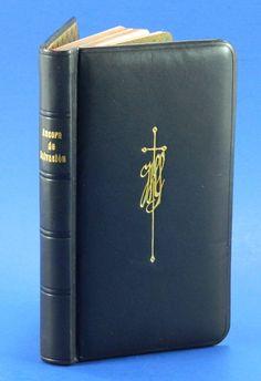 Nueva Ancora de Salvacion Spanish Language Prayer Book 1921 Black Leather 17550 by QueeniesCollectibles on Etsy