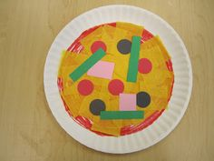 paper plate pizza- following directions learning about shapes listening! & Paper Plate Shamrock