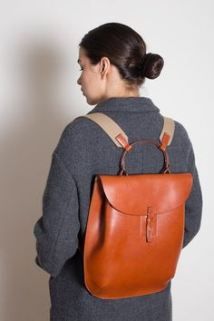 Backpack Tan - Daniel & Bob - Bags & Purses - Epitome of Edinburgh