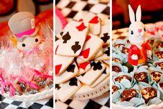 Alice in Wonderland snacks