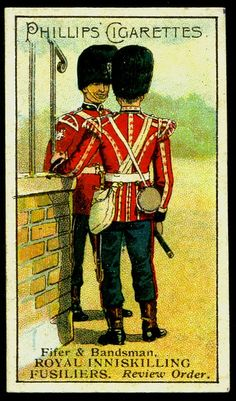 Cigarette Card - Royal Inniskilling Fusiliers