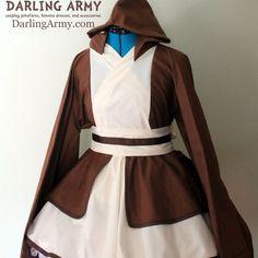 Obi-Wan Jedi Star Wars Kimono Dress Wa Lolita Skirt Accessory Disney | Darling Army