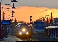 RailPictures.Net Photo: AMT 1363 Agence Metropolitaine de Transport Bombardier ALP-45DP at Montreal West, Quebec, Canada by Michael Berry