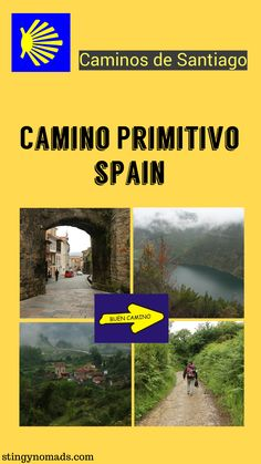 The Camino Primitivo - detailed guide & walking stages - Stingy Nomads Samana, Travel Around The World, Around The Worlds, Paradise Travel, The Camino, Ultimate Travel, Spain Travel, Pilgrimage, Amazing Destinations