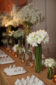 Beautiful Blooms Winter Place card table 4