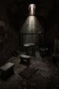 Abandoned Insane Asylums   The Fun Stuff: Art Direction and Practical Effects « New Breed