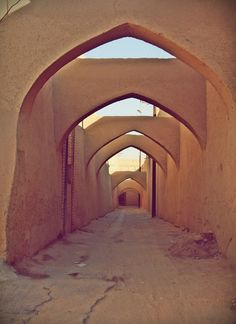 #Yazd, the old part of city  #Iran  www.iran-visa.com