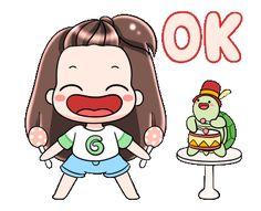Cartoon Gifs, Cartoon Art, Cartoon Characters, Funny Usernames, Ok Gif, Instagram Funny, Heart Frame, Gif Pictures, Line Sticker