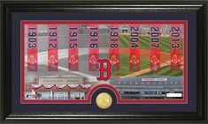 "Boston Red Sox ""Traditions"" Bronze Coin Photo Mint"