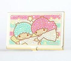 Little Twin Stars Card Case: Glitter